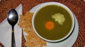 Sopa para um verão chuvoso e frio.