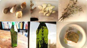 Azeite aromático e medicinal
