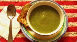 Sopa de Batata e cebola…verde