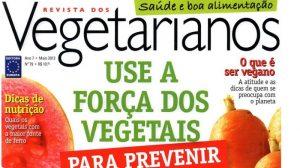 """Revista dos Vegetarianos destaca livro  """"Terapia Integrativa"""""""